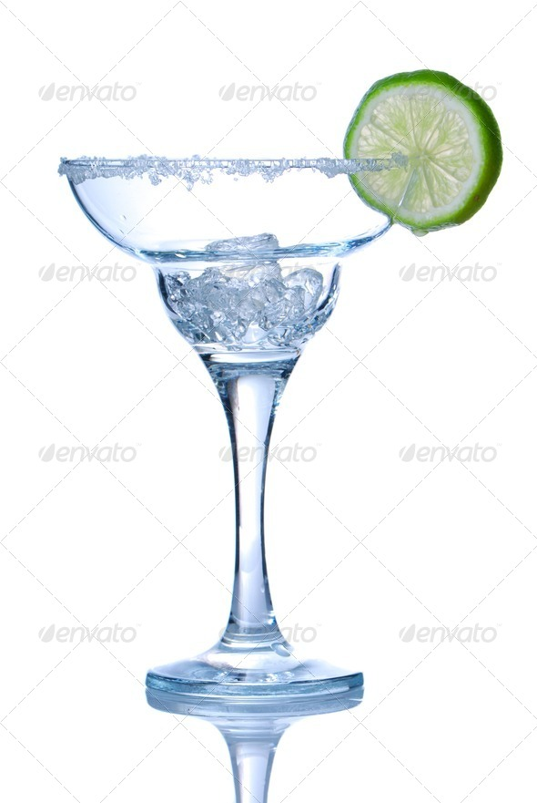 Margarita glass - Stock Photo - Images