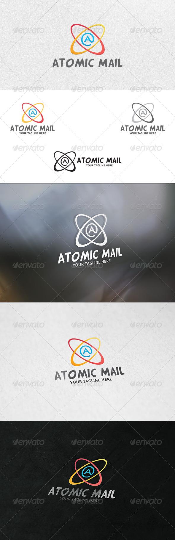 Atomic Mail - Logo Template - Symbols Logo Templates