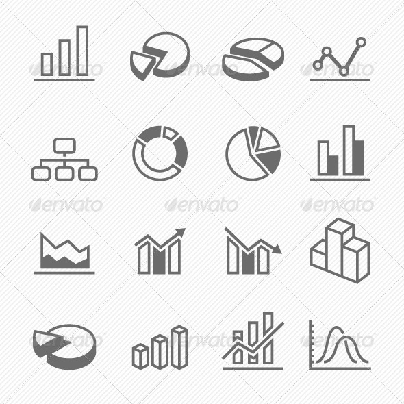 Graph Icons - Business Icons