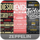 Indie Typography Flyers Bundle - GraphicRiver Item for Sale