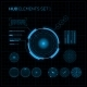 HUD and GUI set. Futuristic User Interface. - GraphicRiver Item for Sale