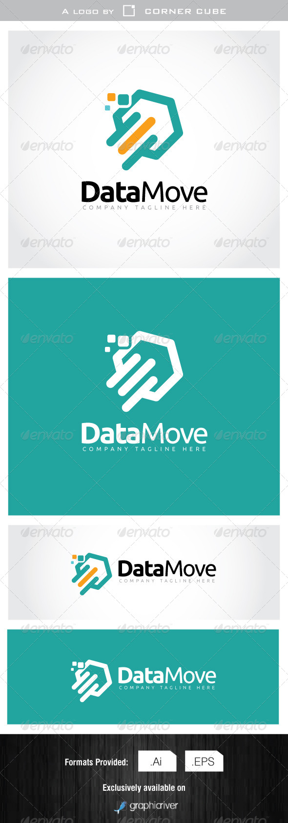 Data Move Logo - Logo Templates