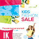 Colorful Kids Fashion Flyer - GraphicRiver Item for Sale