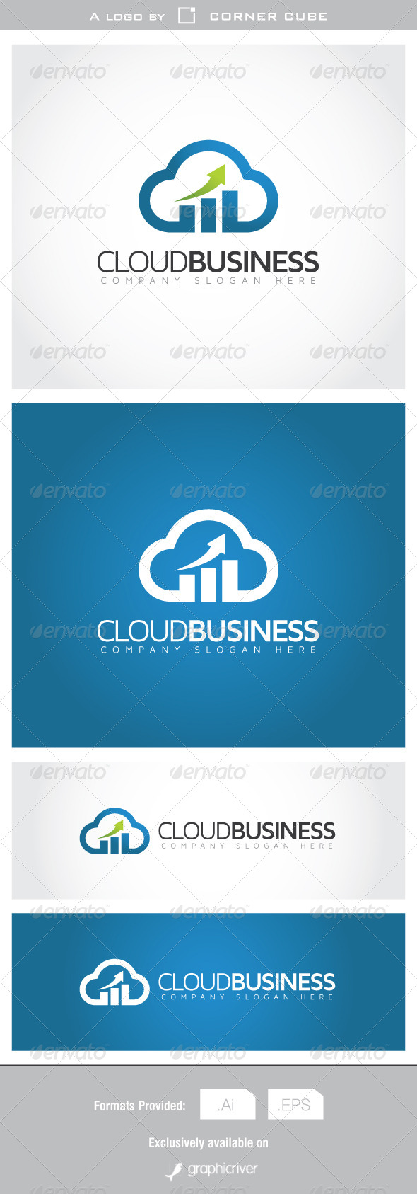 Cloud Business Logo - Logo Templates