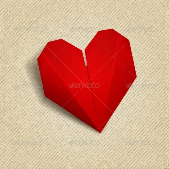 Paper Heart - Valentines Seasons/Holidays