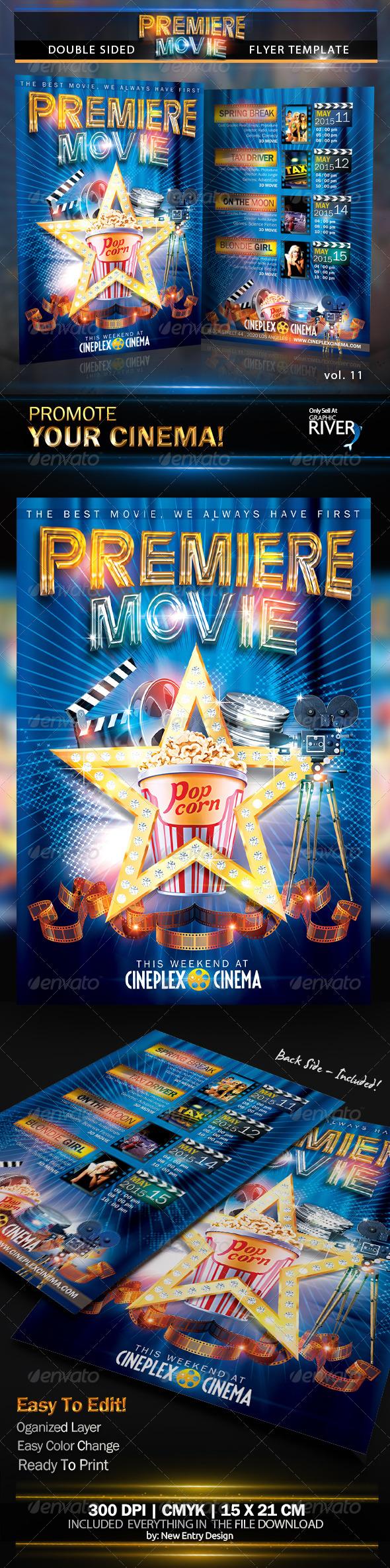 Premiere Movie Vol11 - Miscellaneous Events
