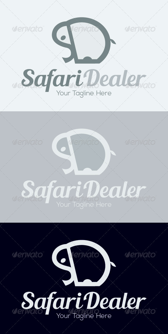 Safari Dealer Logo Template - Animals Logo Templates