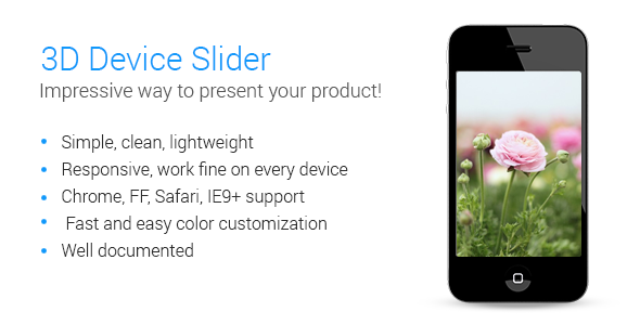 3D Device Slider - CodeCanyon Item for Sale