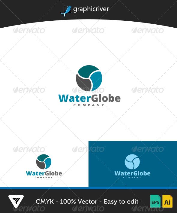 WaterGlobe Logo - Logo Templates
