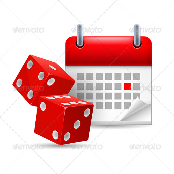 Dice and Calendar - Miscellaneous Vectors