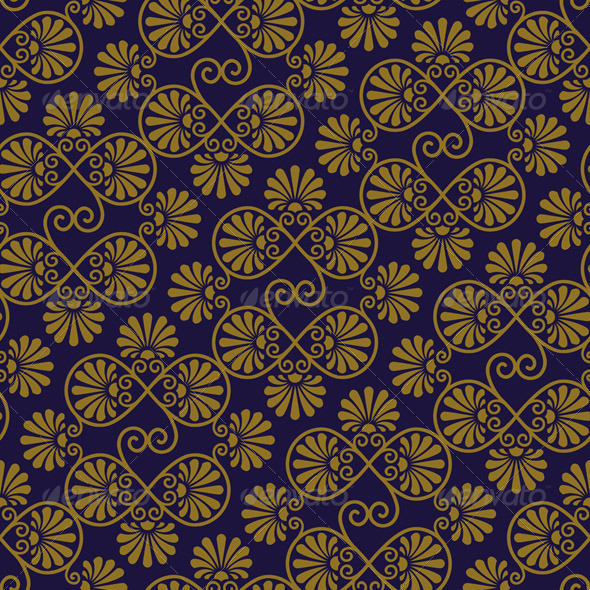 Vector Seamless Pattern - Patterns Decorative