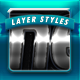 Pro Metal Series Layer Styles 1 - GraphicRiver Item for Sale