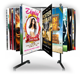 Smart Object Poster Display Stand Mockup - GraphicRiver Item for Sale