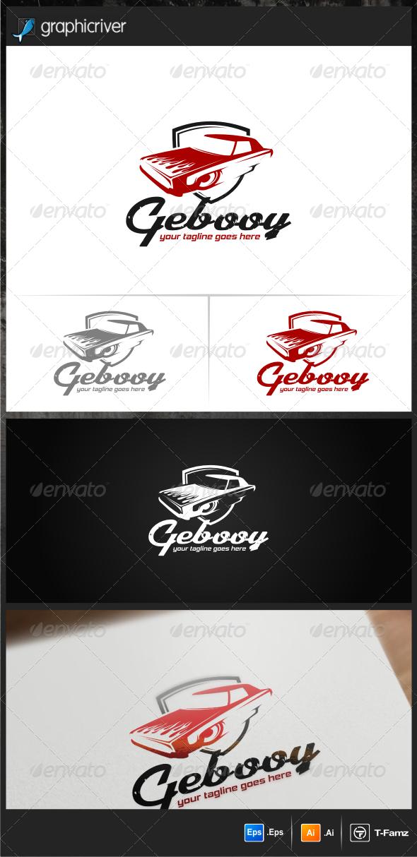 Gebooy Car Club Logo Templates - Objects Logo Templates