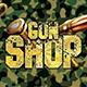 Gun Shop Flyer Template - GraphicRiver Item for Sale
