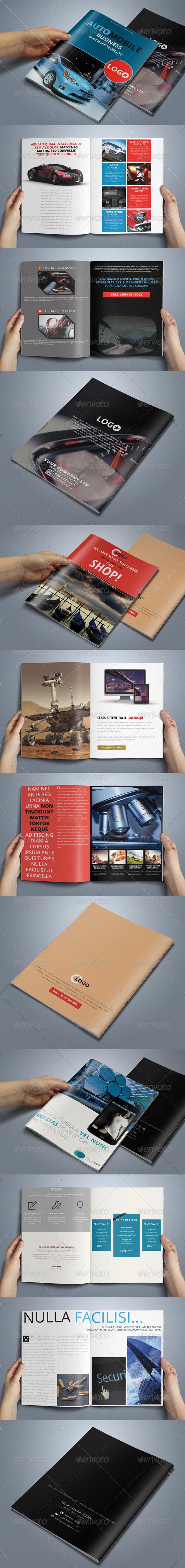 3in1 Multipurpose Business Brochure Bundle - Corporate Brochures