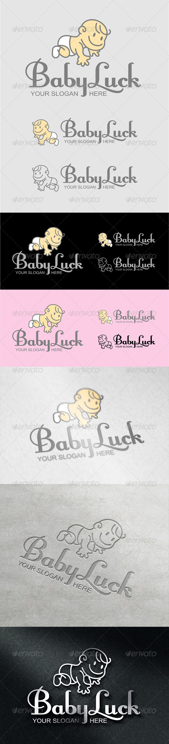 BabyLuck Logo - Humans Logo Templates