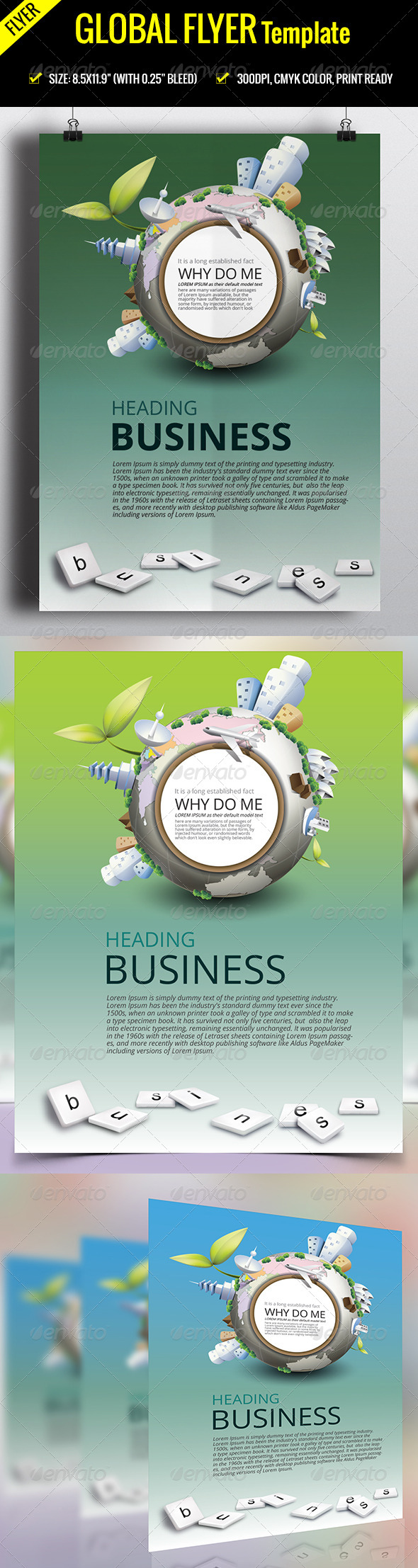 Corporate Flyer-V01 - Flyers Print Templates