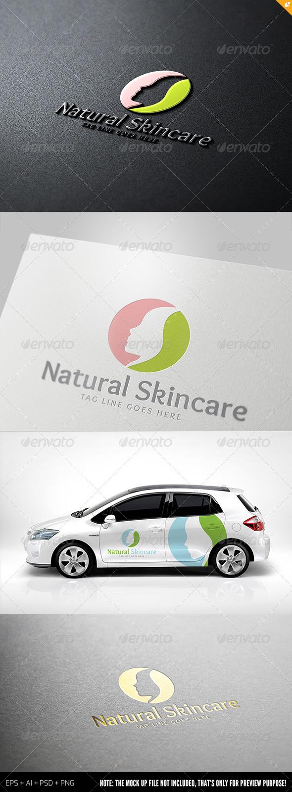 Natural Skincare Logo - Humans Logo Templates