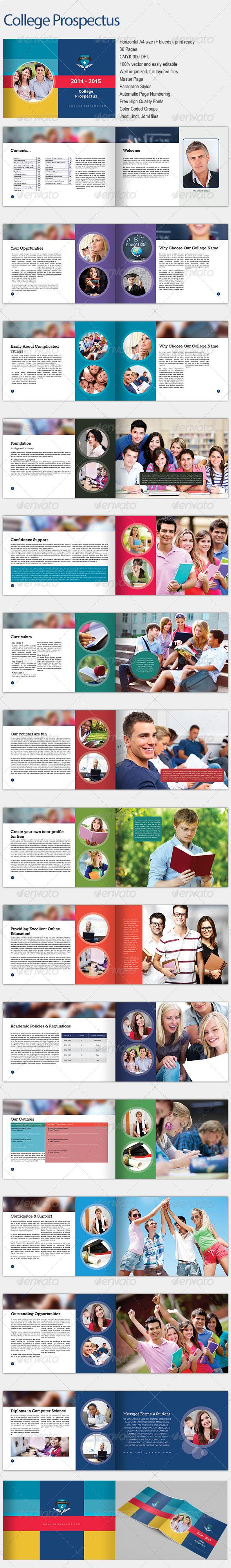 College Prospectus - Informational Brochures