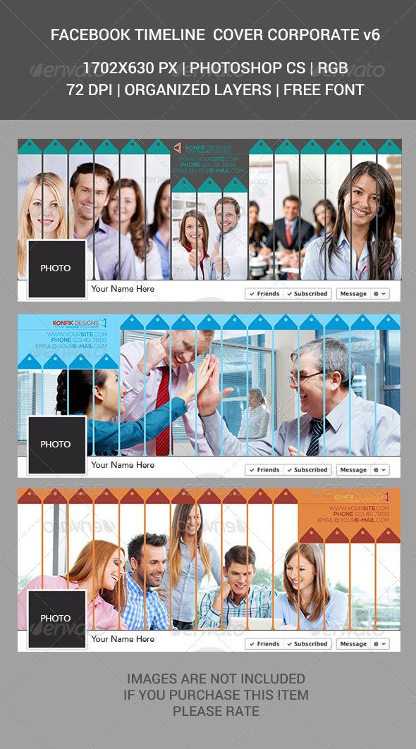 Facebook Timeline Cover Corporate v6 - Facebook Timeline Covers Social Media