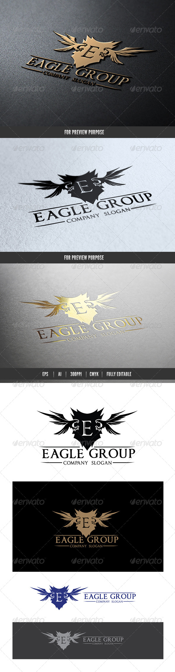 Eagle Group - Crests Logo Templates