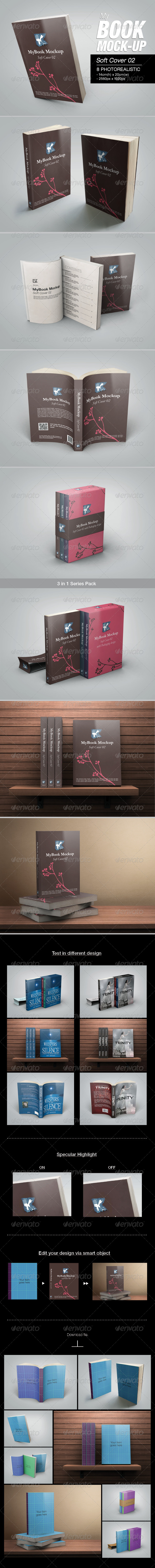 Soft Cover 02 Mock-up - Books Print