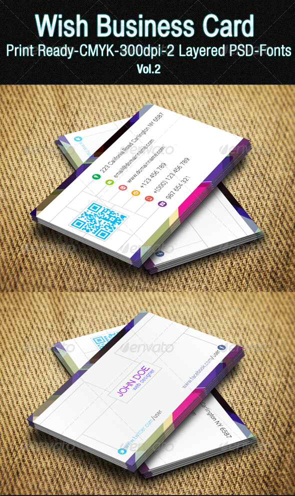 Wish Business Card Vol. 02 - Creative Business Cards