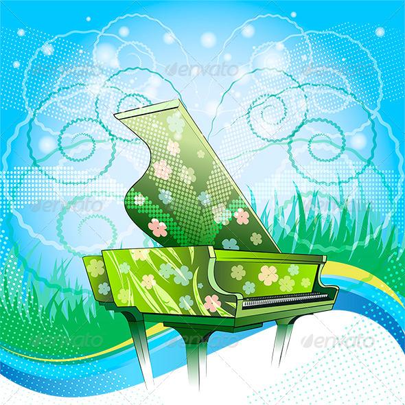 Nature Symphony - Conceptual Vectors