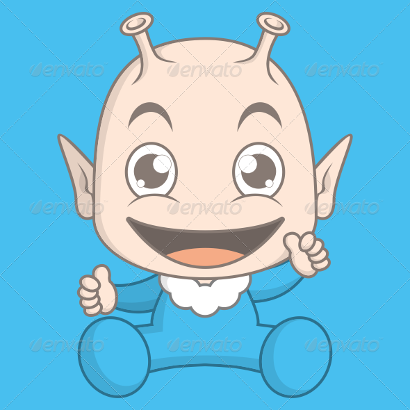 Alien Baby - People Characters
