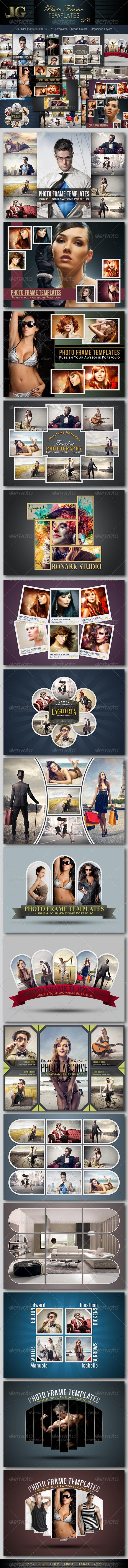 Photo Frame Templates V6 - Artistic Photo Templates