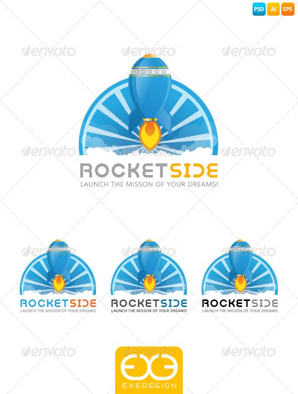 Rocket Logo - Vector Abstract