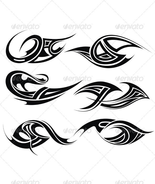 Tribal Tattoo - Tattoos Vectors