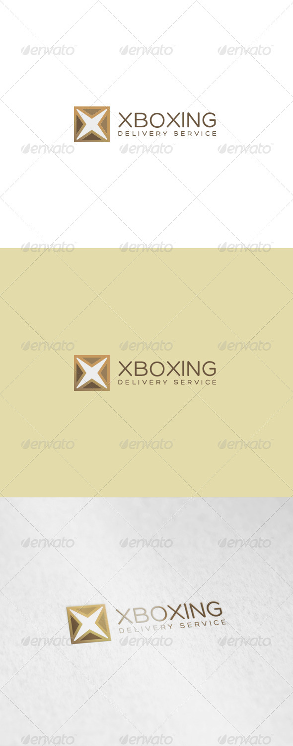 Xboxing Logo - Letters Logo Templates