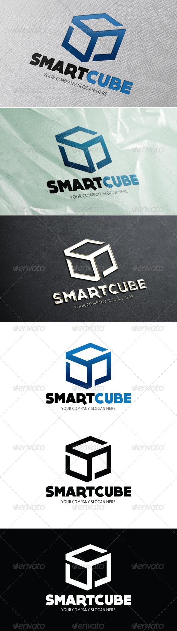 Smart Cube - Symbols Logo Templates