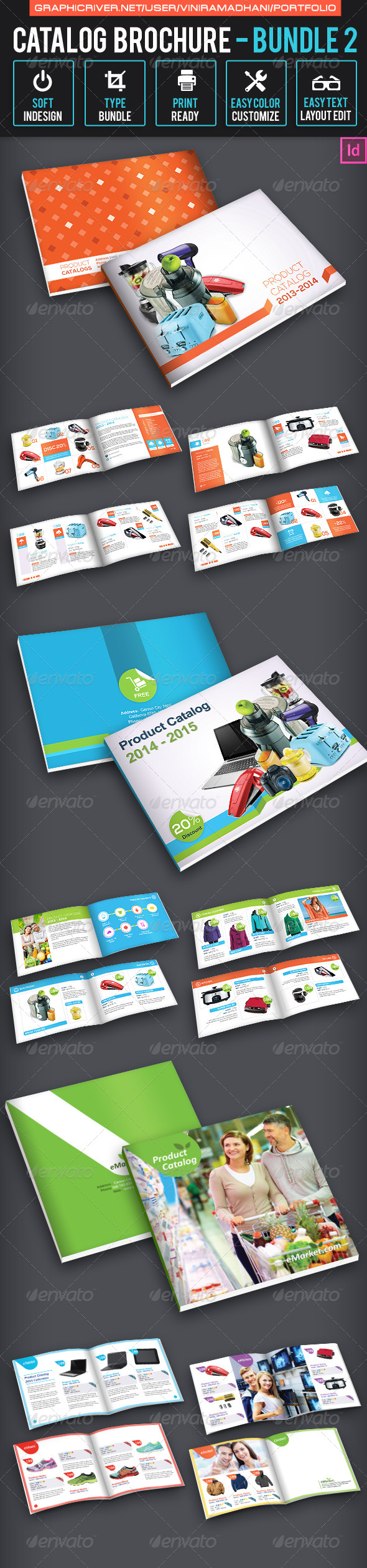 Catalog Brochure Bundle 2 - Catalogs Brochures