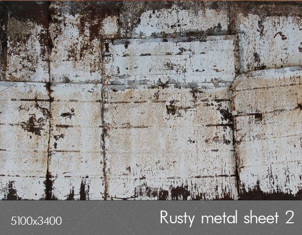 Rusty metal 2 - Metal Textures