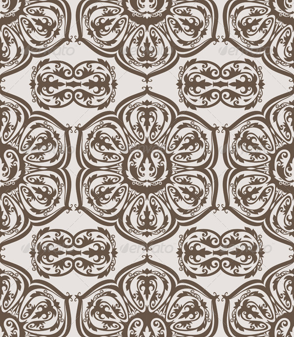 Seamless Floral Vintage Pattern - Patterns Decorative
