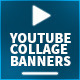2 Collage l Youtube Banners - GraphicRiver Item for Sale