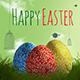 Easter Eggs Illustration Mock-up - GraphicRiver Item for Sale