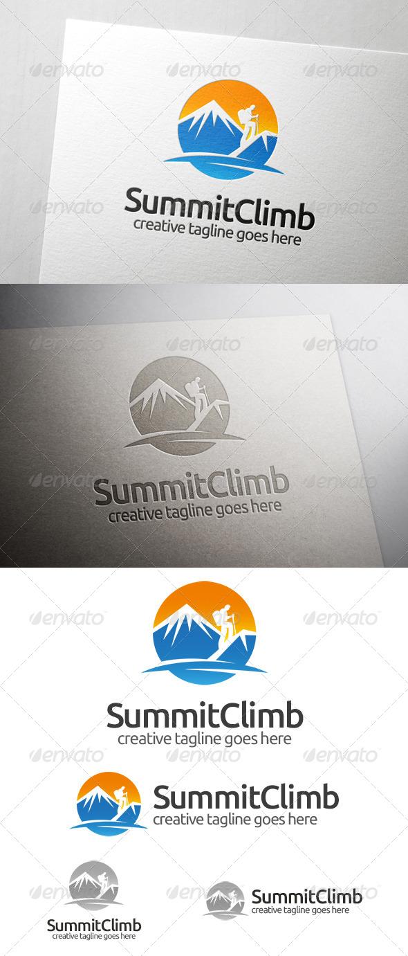 Summit Climb Logo - Nature Logo Templates