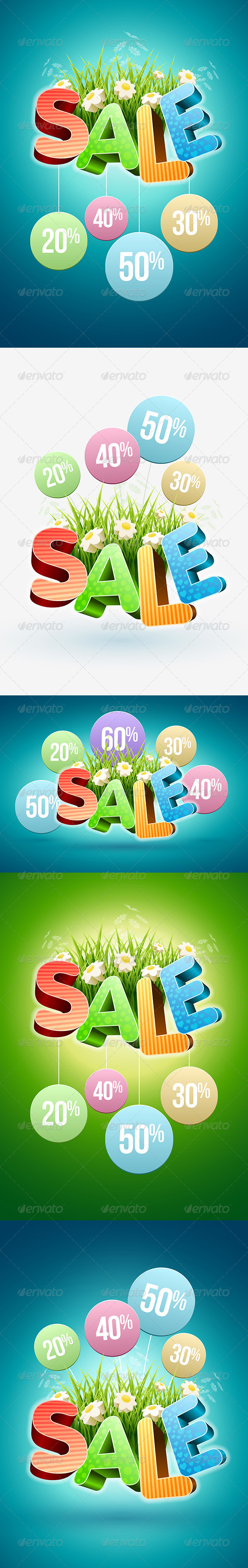 Spring and Summer Sale Poster - Miscellaneous Seasons/Holidays