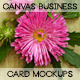 Canvas Business card mockups - GraphicRiver Item for Sale