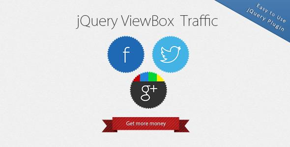 ViewBox Traffic - Lightbox Alternative - CodeCanyon Item for Sale