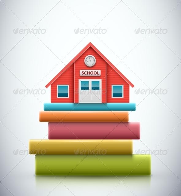 School Building - Buildings Objects