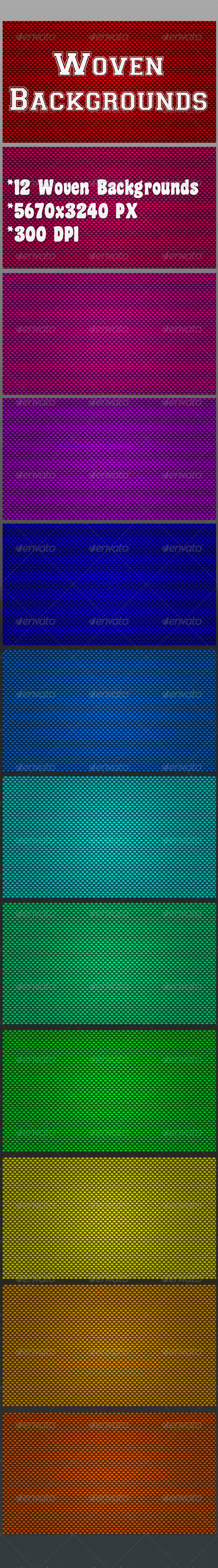 Woven Backgrounds - Patterns Backgrounds