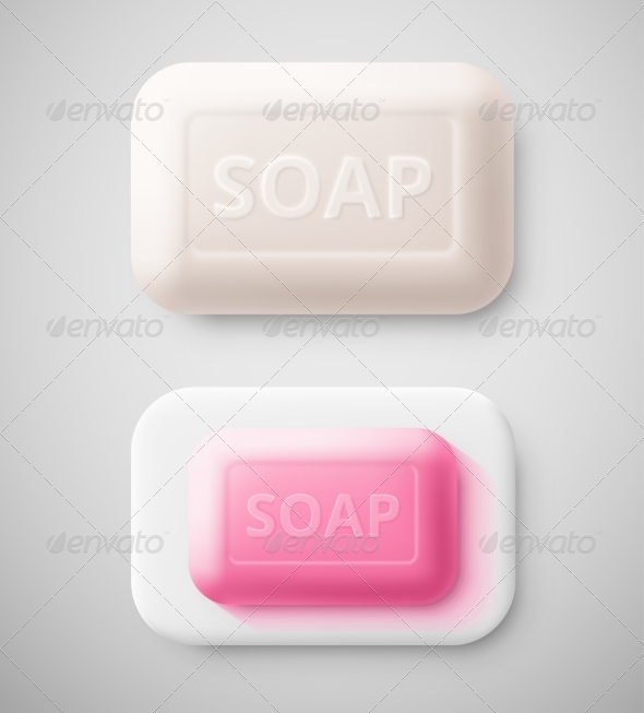 Isolated Soap - Man-made Objects Objects