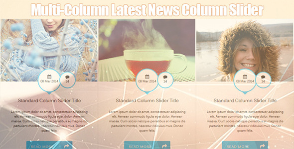 Multi Column Latest News Infinite Slider - CodeCanyon Item for Sale