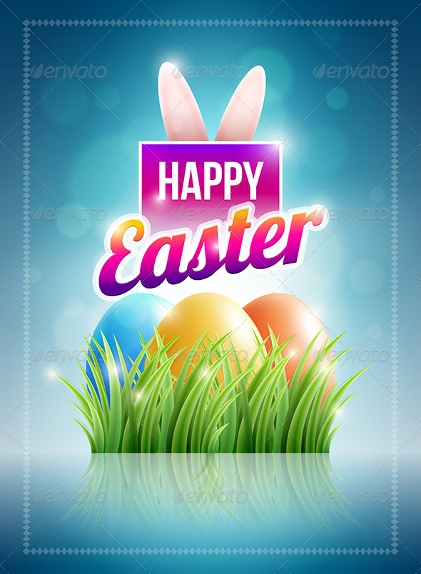 Easter Poster Design  - Seasons/Holidays Conceptual