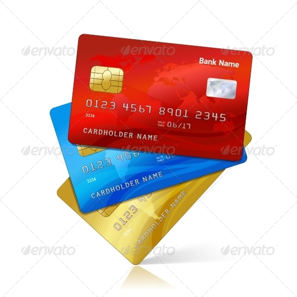 Realistic Credit Cards - Concepts Business